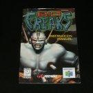 Bio Freaks - Nintendo N64 - Manual Only