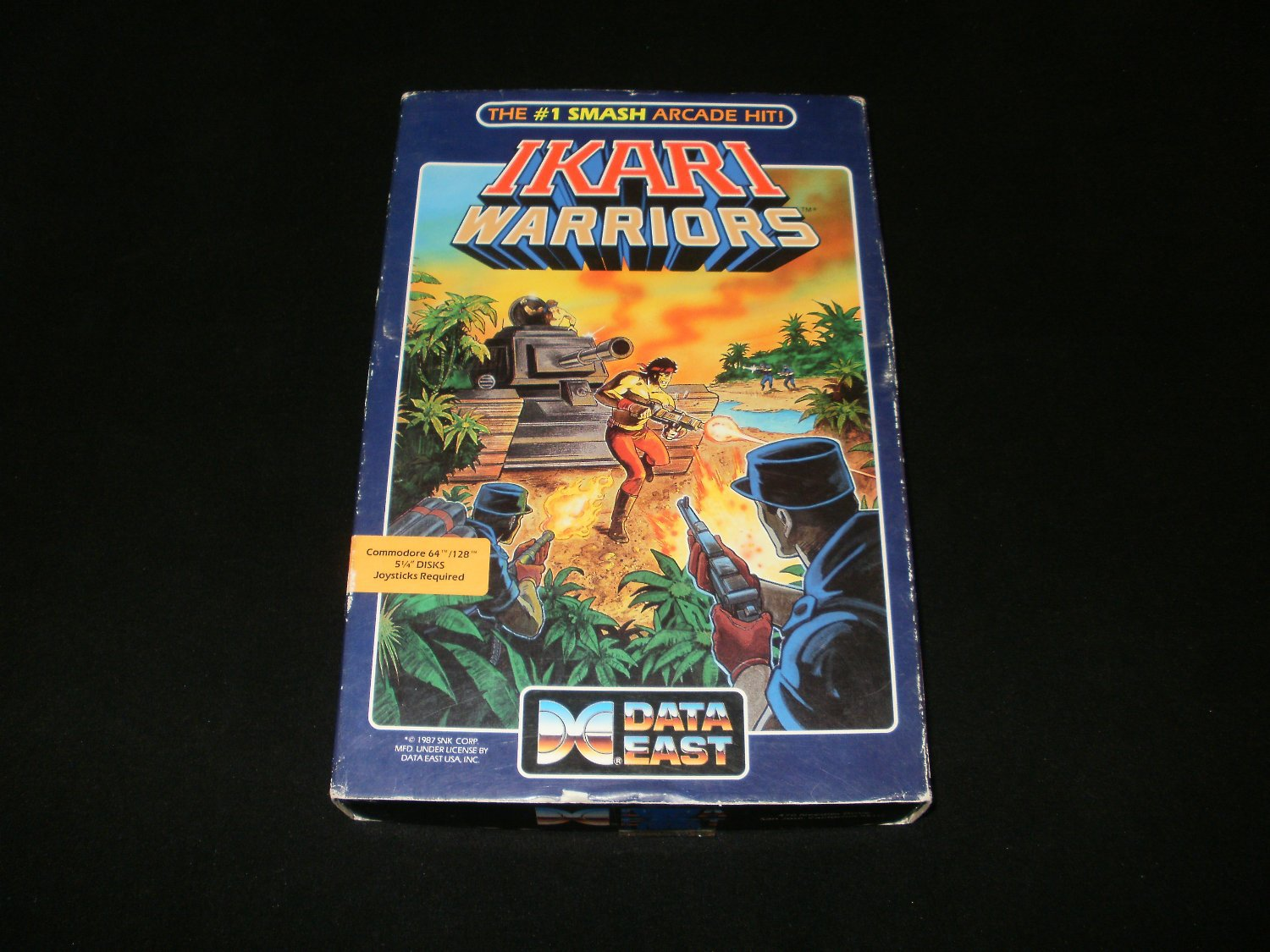 Ikari Warriors - Commodore 64 - 1987 Data East - Complete CIB