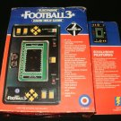 Football 3 - Vintage Handheld - Entex 1980 - Complete CIB