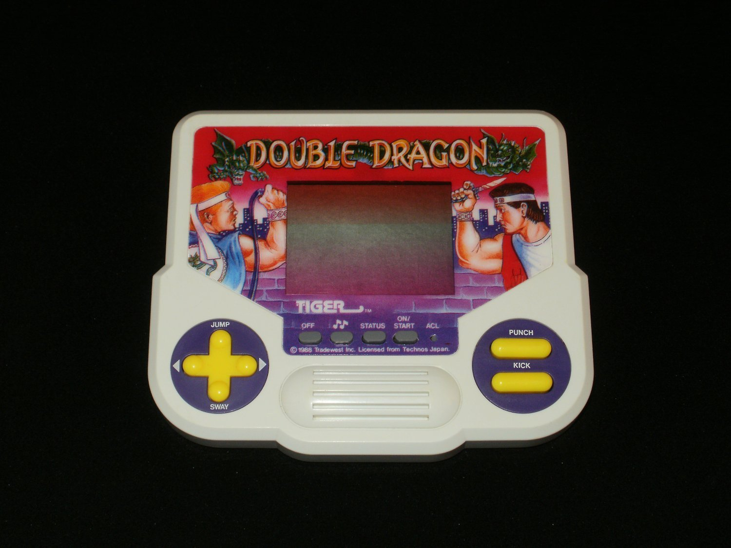 Double Dragon - Vintage Handheld - Tiger Electronics 1988 - Refurbished