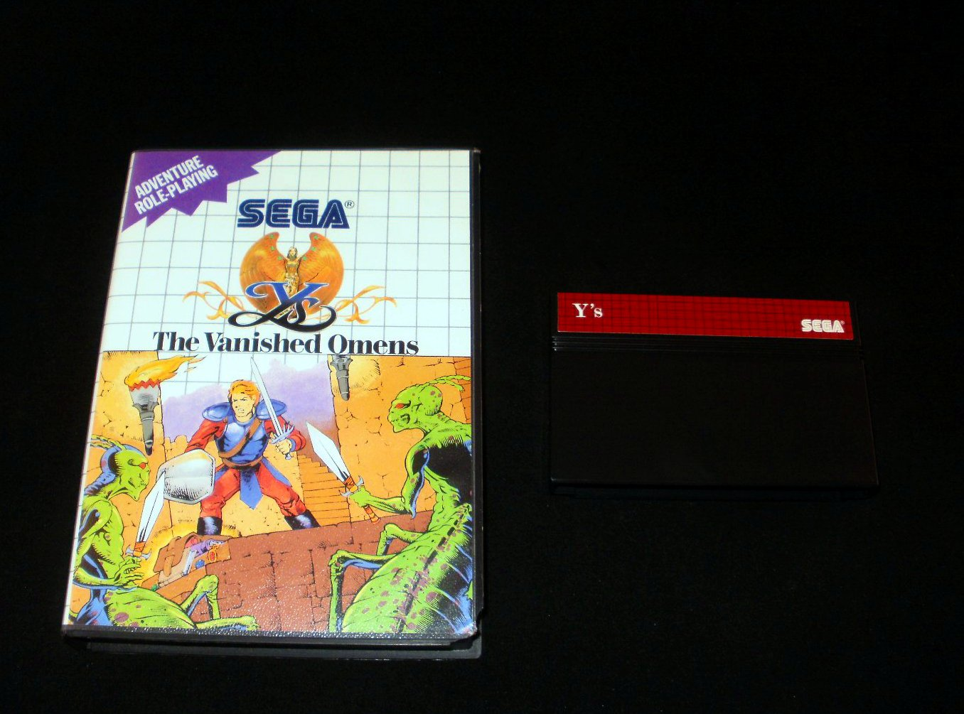 Y's The Vanished Omens - Sega Master System - With Box - Rare