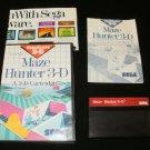 Maze Hunter 3D - Sega Master System - Complete CIB