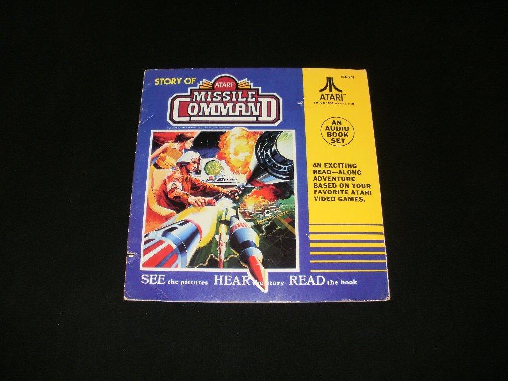 Story of Atari Missile Command - 33 1/3 RPM Record - Kid Stuff Records 1982 - Rare