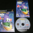 VeggieTales LarryBoy and the Bad Apple - Sony PS2 - Complete CIB