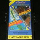 Artillery Duel Ghost Manor - Atari 2600 - Rare