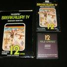 Breakaway IV - Atari 2600 - Complete CIB