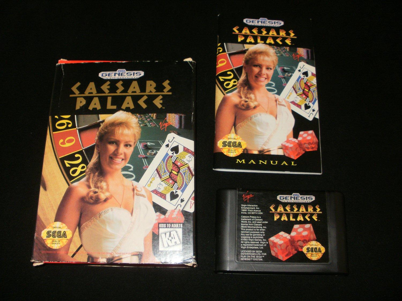Caesars Palace - Sega Genesis - Complete CIB