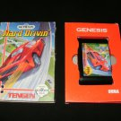 Hard Drivin - Sega Genesis - With Box