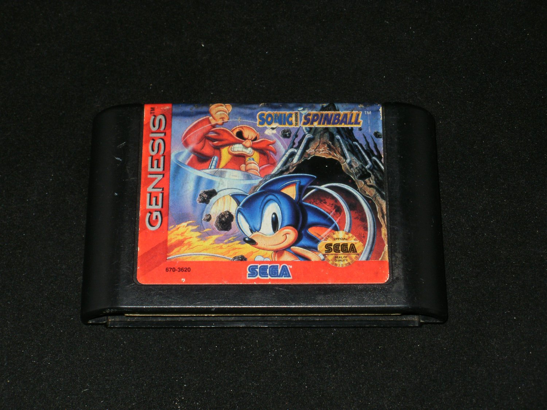 Sonic the Hedgehog Spinball - Sega Genesis