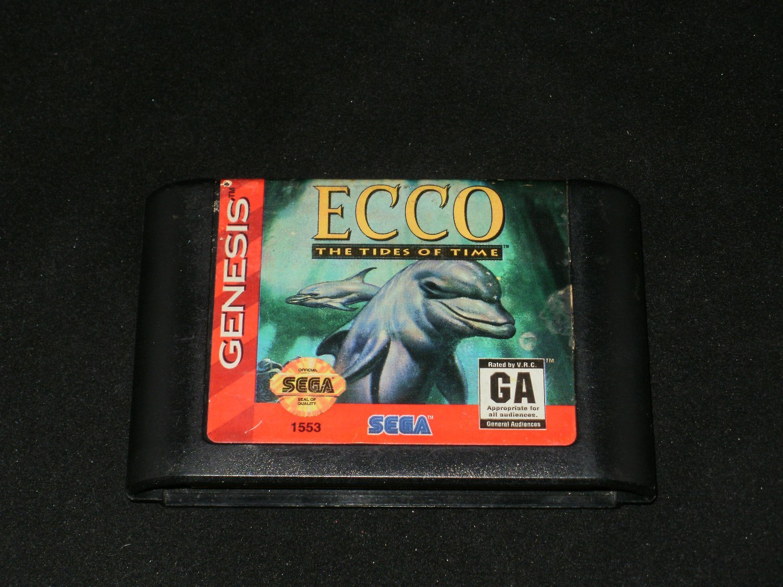 Ecco The Tides of Time - Sega Genesis