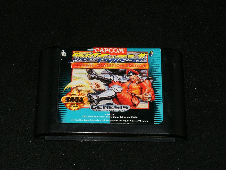 Street Fighter II Special Champion Edition - Sega Genesis