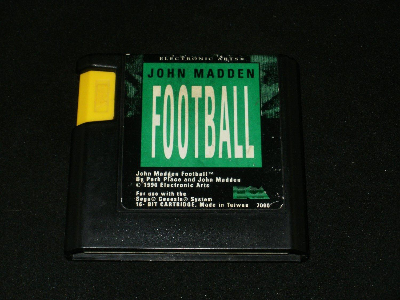 John Madden Football - Sega Genesis