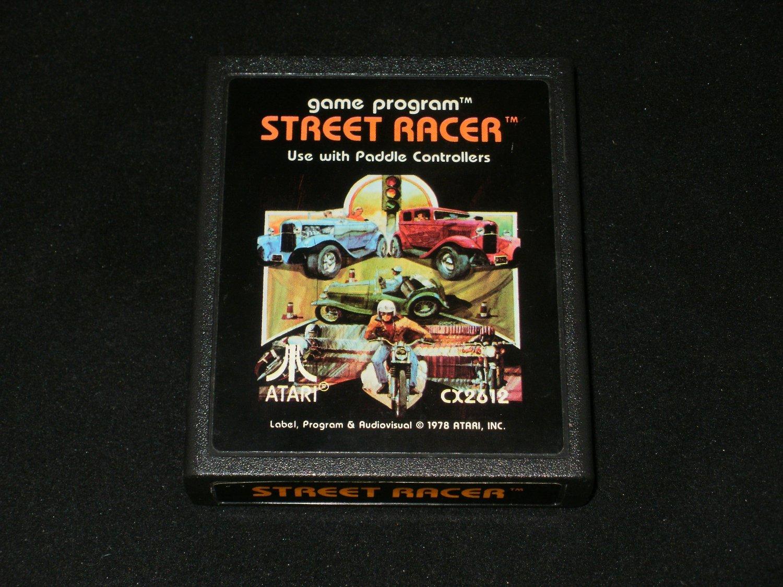 Street Racer - Atari 2600