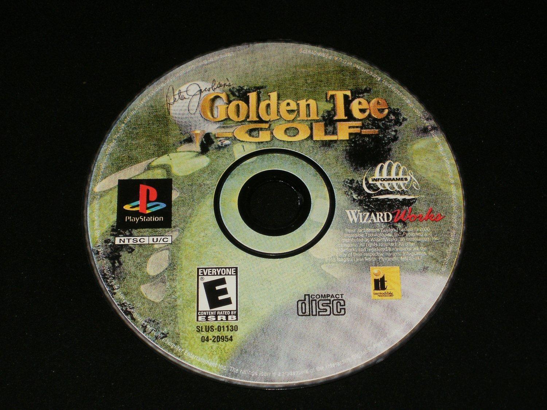 Peter Jacobsen's Golden Tee Golf - Sony PS1 - Disk only