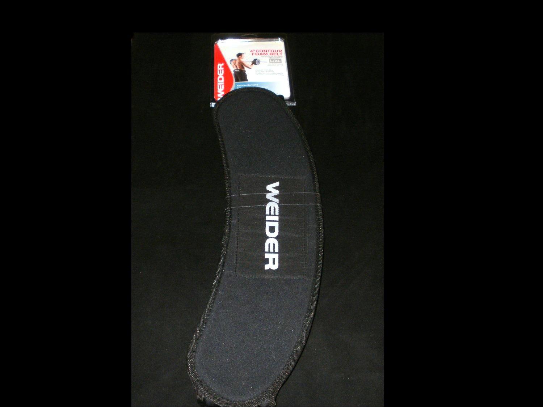 "Weider 4"" Contour Foam Belt - Large-X-Large - Brand New"