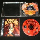 Tomb Raider II Starring Lara Croft - Sony PS1 - Complete CIB - Black Label 1997 Release