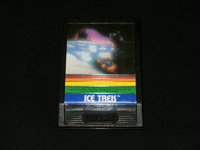 Ice Trek - Mattel Intellivision - Rare