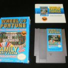 Wheel of Fortune Family Edition - Nintendo NES - Complete CIB