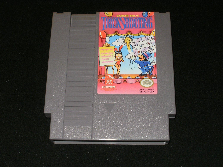 Barker Bill's Trick Shooting - Nintendo NES