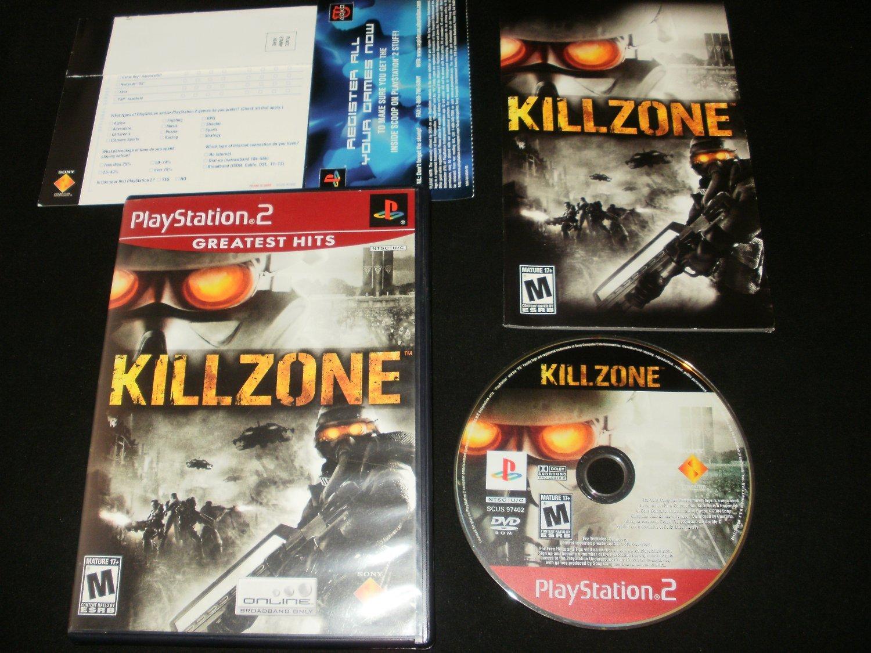 Killzone - Sony PS2 - Complete CIB