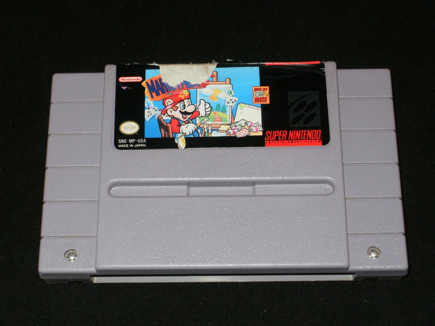 Mario Paint - SNES Super Nintendo