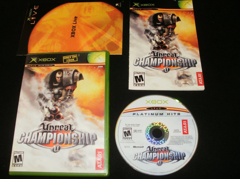 Unreal Championship - Xbox - Complete CIB