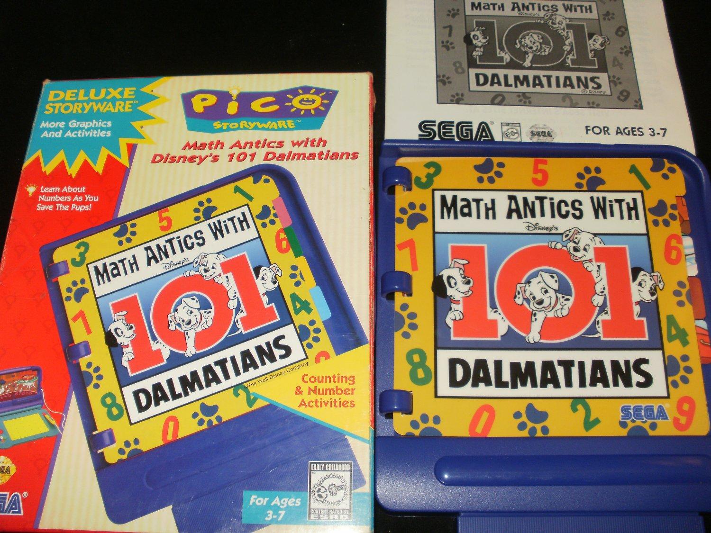 Math Antics with 101 Dalmations - Sega Pico - Complete CIB