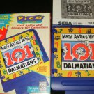 Math Antics with 101 Dalmations - Sega Pico - Complete CIB