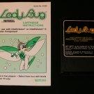 Ladybug - Mattel Intellivision - Rare - With Manual