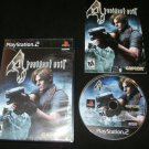 Resident Evil 4 - Sony PS2 - Complete CIB - Original 2005 Black Label Release
