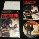 Predator Concrete Jungle - Sony PS2 - Complete CIB - Rare