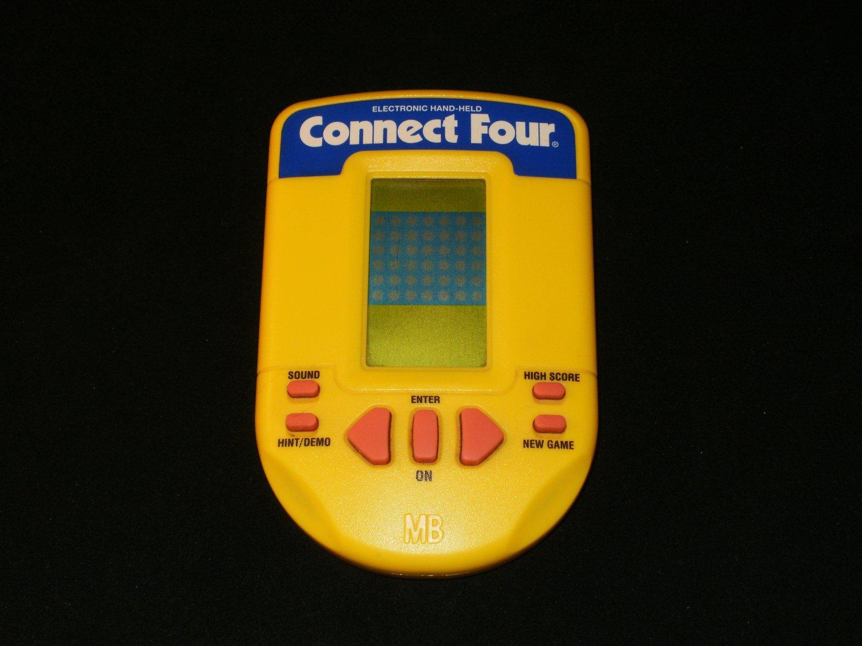 Connect Four - Vintage Handheld - Milton Bradley 1995 Handheld