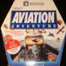 Aviation Adventure - 1994 Knowledge Adventure Inc - Windows PC - Complete CIB - Rare