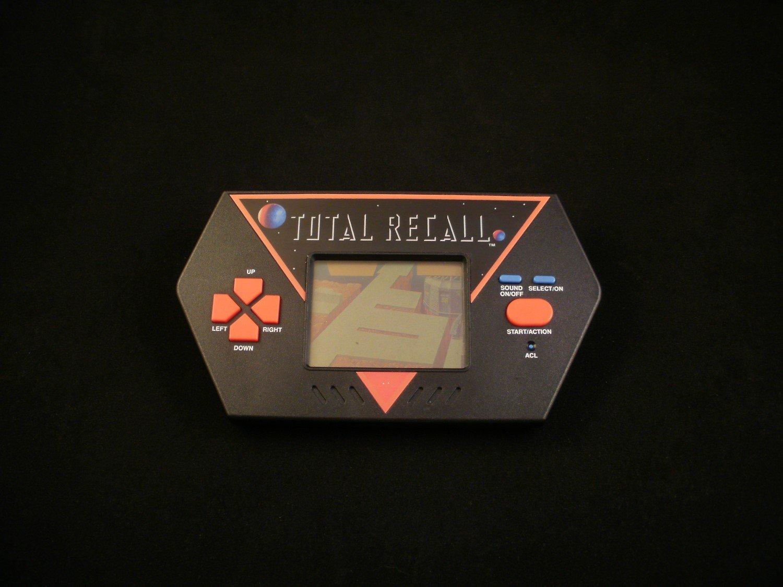 Total Recall - Vintage Handheld - Acclaim 1989