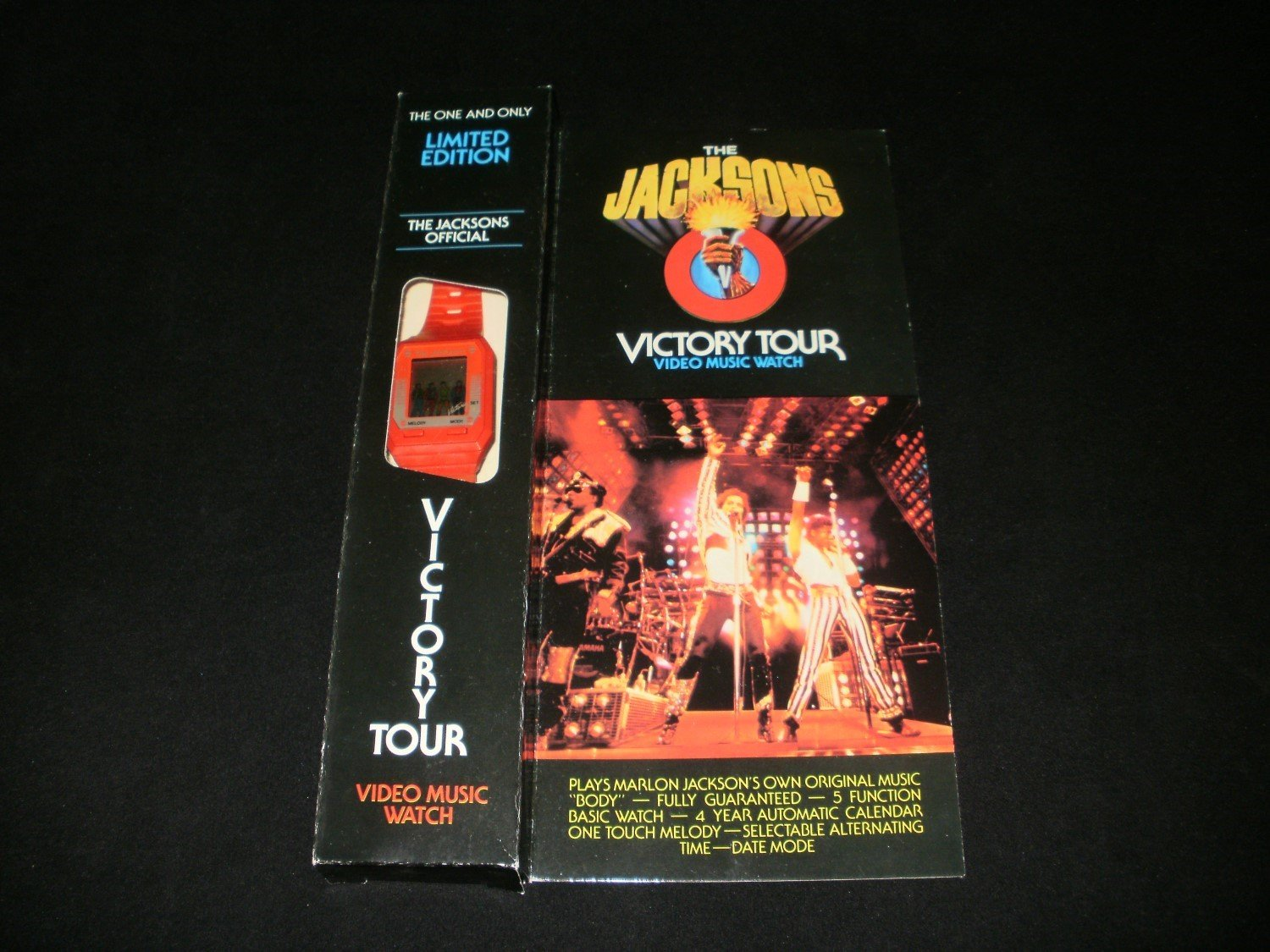 Michael Jacksons Victory Tour Watch - 1984 Collectable