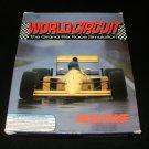 World Circuit - 1992 MicroProse - IBM PC - Complete CIB - Rare