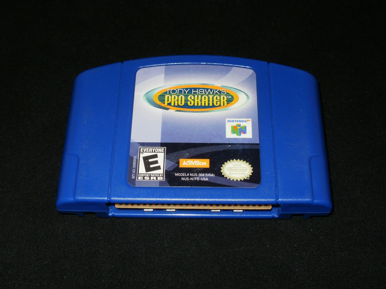 Tony Hawk's Pro Skater - N64 Nintendo