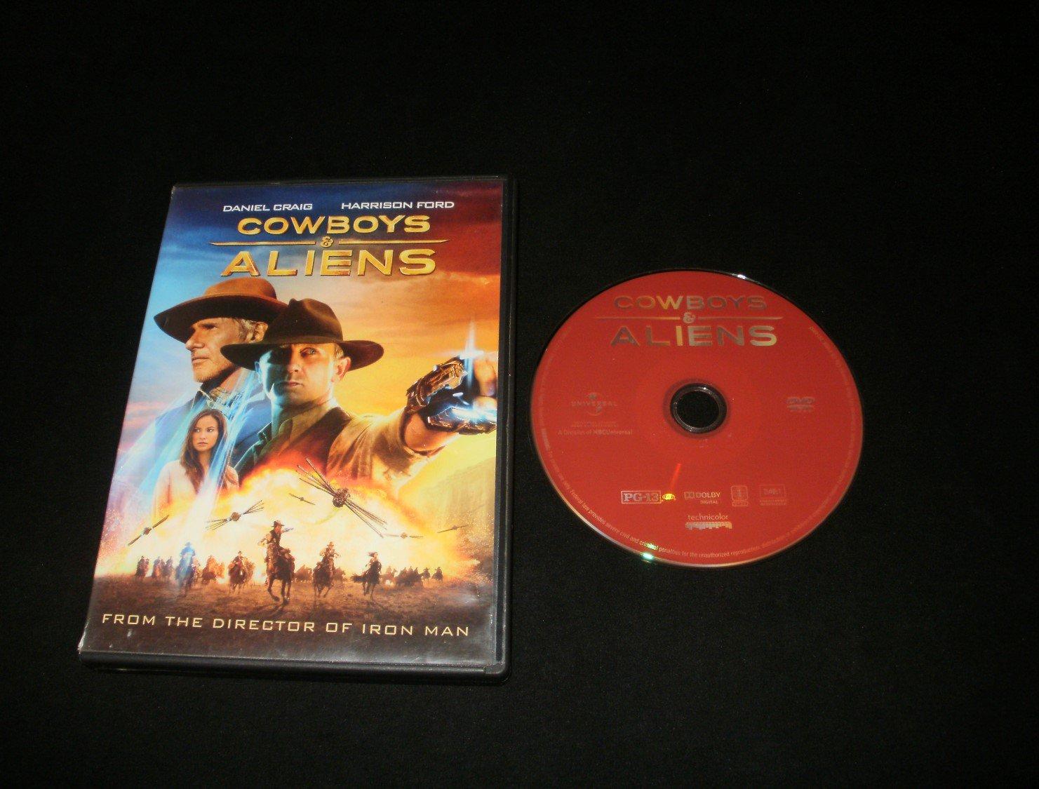 Cowboys & Aliens - DVD 2011 - Harrison Ford and Daniel Craig