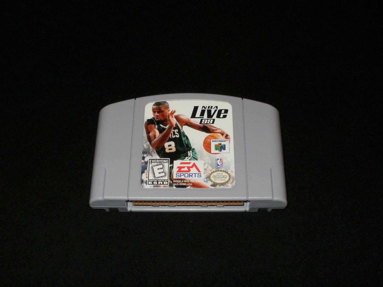 NBA Live 99 - N64 Nintendo