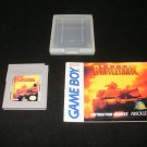 Super Battletank - Nintendo Gameboy - With Case & Manual