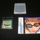 Vegas Games - Nintendo Gameboy Color - With Case & Manual