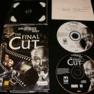 Alfred Hitchcock Presents The Final Cut - 2001 Ubisoft - IBM PC - Complete CIB