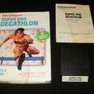 Super Pro Decathlon - Mattel Intellivision - Complete CIB - Rare