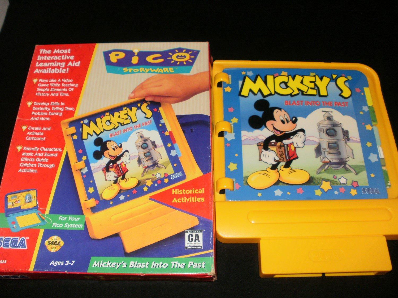Mickey's Blast Into the Past - Sega Pico - With Box
