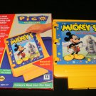 Mickey's Blast Into the Past - Sega Pico - With Box