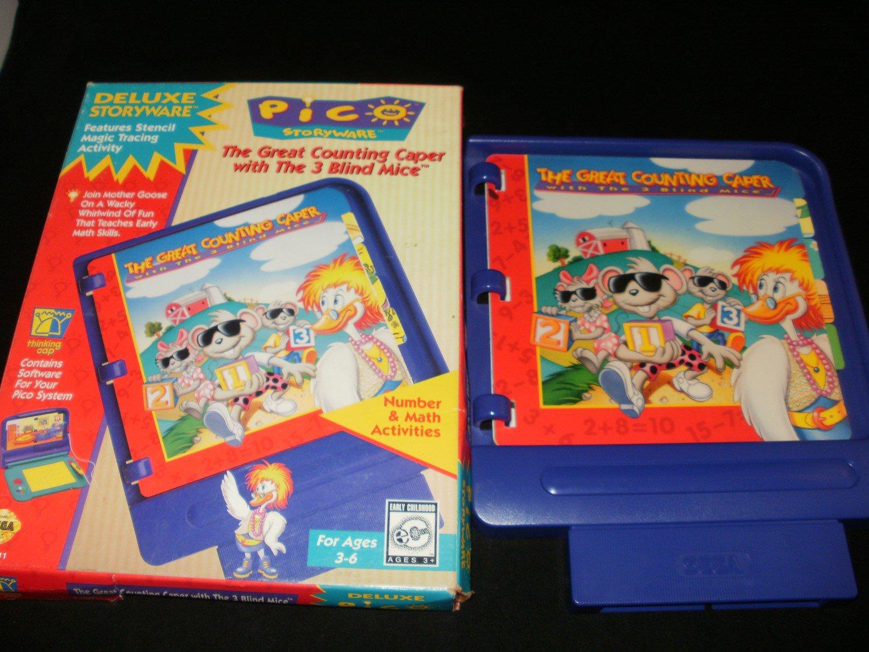 Great Counting Caper - Sega Pico - With Box - Rare