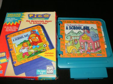 Berenstain Bears A School Day - Sega Pico - With Box - Rare