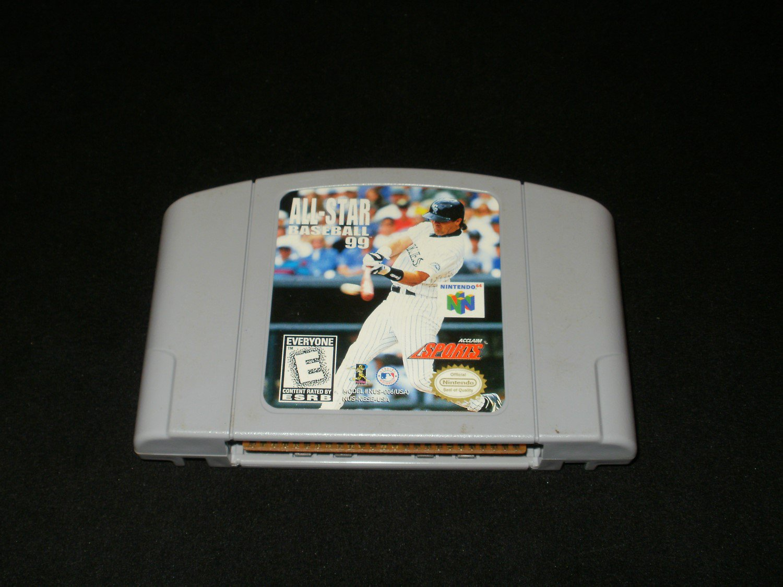 All-Star Baseball 99 - N64 Nintendo