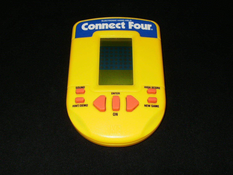 Connect Four - Vintage Handheld - Milton Bradley 1995