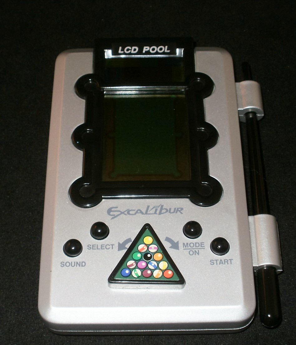LCD Pool - Handheld - Excalibur